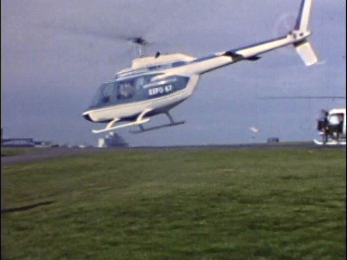 Canada Dominion-Pegasus Bell 206A CF-xxx Dorval Airport 1967.jpg